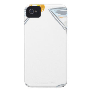 Martini Drink Sketch Case-Mate iPhone 4 Case