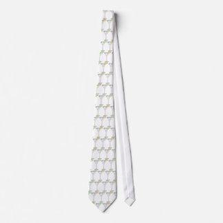 Martini Drink Sketch Tie