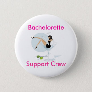 martini_girl, Bachelorette, Support Crew 2 Inch Round Button