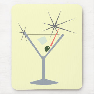 Martini Glass Mousepad