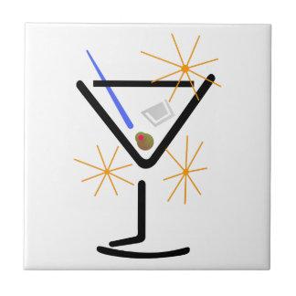 Martini Glass Tile