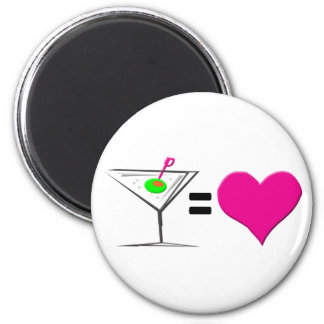 Martini = Love Magnet
