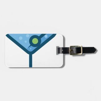 Martini Luggage Tag