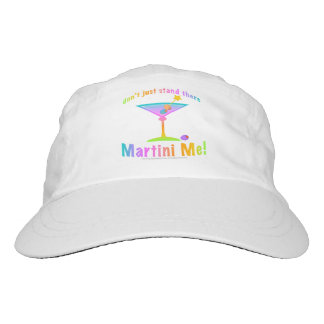 MARTINI ME! HEADSWEATS HAT
