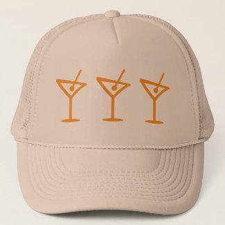 Martini Pattern Trucker Hat