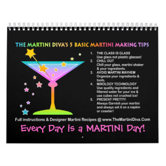 MARTINI RECIPE CALENDAR 2014 - Holidays & Seasonal