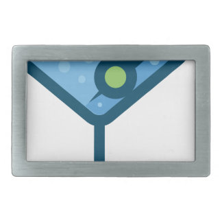 Martini Rectangular Belt Buckle
