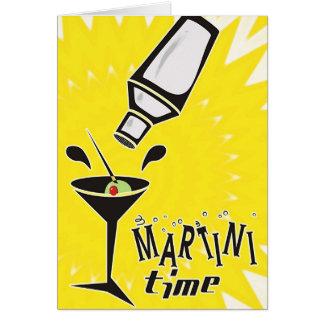Martini Time (Blank Card / Customize)