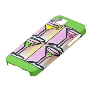 MARTINI TIME PASTEL PRINT iPhone 5 COVERS