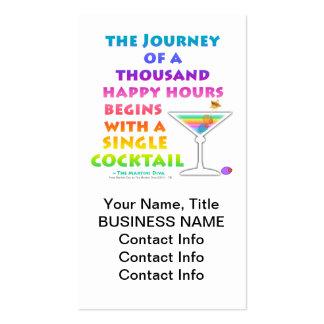 MARTINI ZEN - Happy Hour Journey Business Card