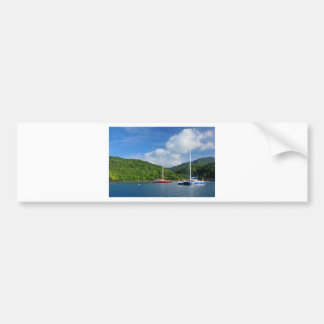 Martinique Bumper Sticker