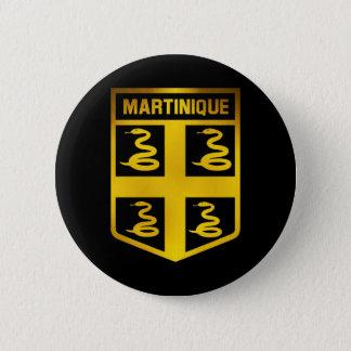 Martinique Emblem 2 Inch Round Button