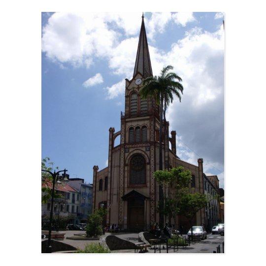 Martinique - Fort-de-France - Saint-Louis Postcard