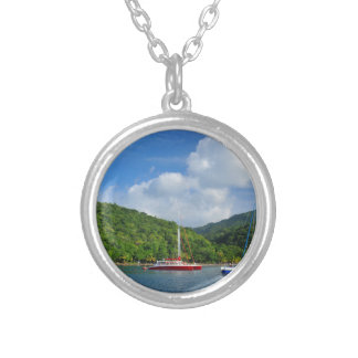 Martinique Silver Plated Necklace