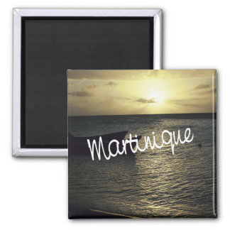 Martinique Travel Photo Souvenir Fridge Magnets