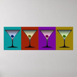Martinis 22 poster