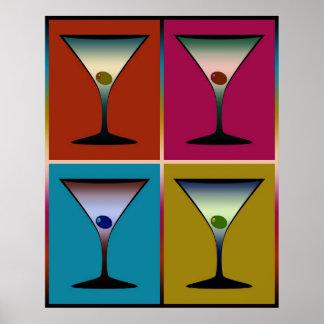 Martinis 24 poster