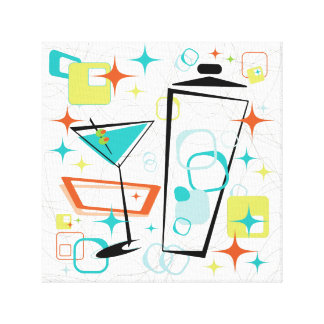 Martinis A Go-Go! Canvas Print