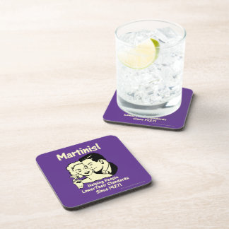 Martinis: Helping Lower Standards Coaster