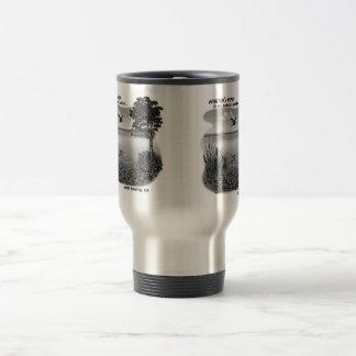 Martin's Pond Travel Mug - Silver