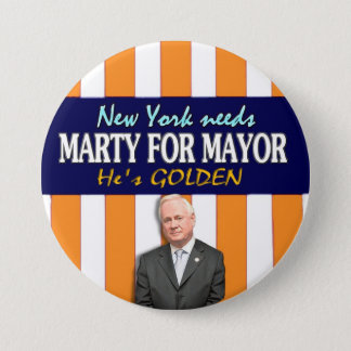Marty Golden for NYC Mayor 2013 3 Inch Round Button