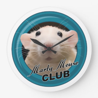 Marty Mouse Club Clock