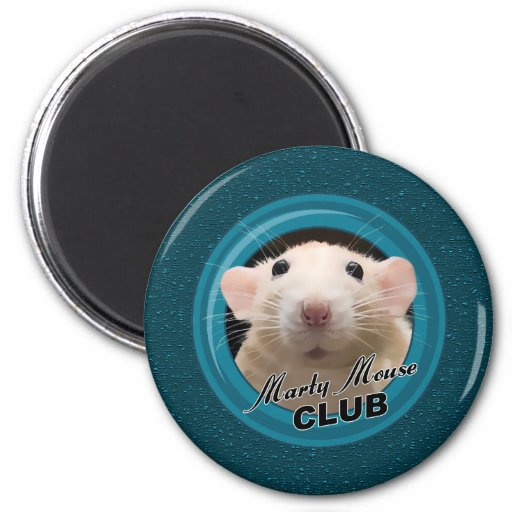 Marty Mouse Club Magnet