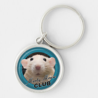 Marty Mouse Club Premium Keychain