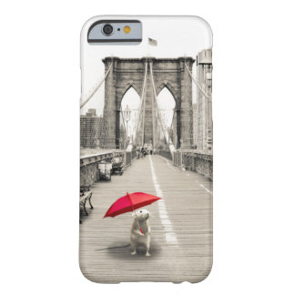 Marty Mouse on the Brooklyn Bridge iPhone 6 Case