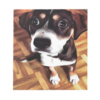 Marty The Soulful Eyed Dog Notepad