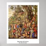Martyrdom Of Christians By Albrecht Durer Print