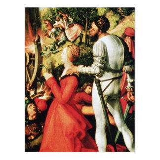 Martyrdom of St. Catherine Postcard