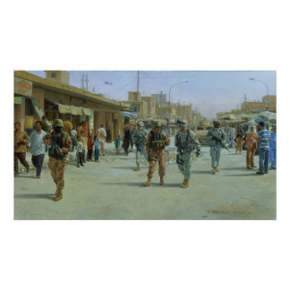 Martyrs' Market by Larry Selman Poster