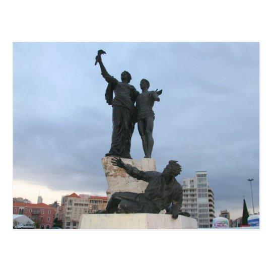Martyrs Square Postcard
