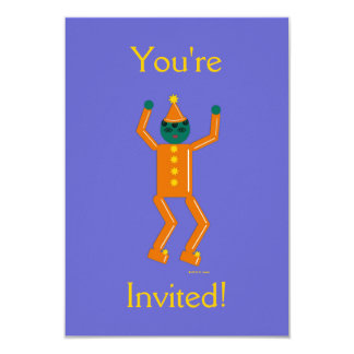 Martzkin Boy's Halloween Party Invitation