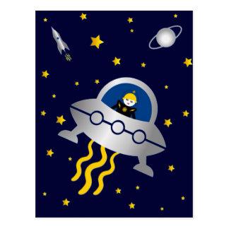 Martzkins In Outer Space Postcard © 2012 M. Martz