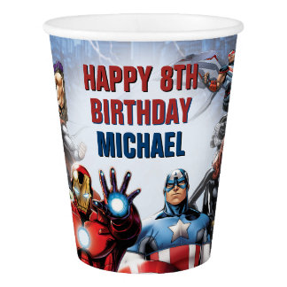 Marvel | Avengers - Birthday Paper Cup