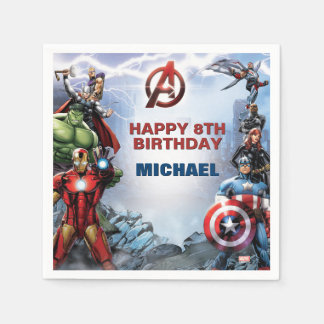 Marvel | Avengers - Birthday Paper Napkins