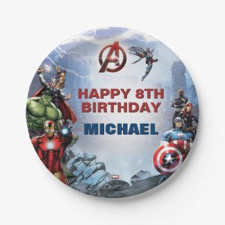 Marvel | Avengers - Birthday Paper Plate