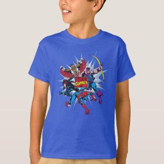 Marvel Comics Hero Group T-Shirt