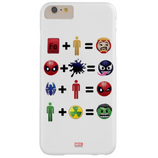 Marvel Emoji Character Equations Barely There iPhone 6 Plus Case