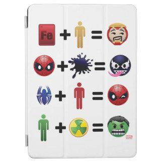 Marvel Emoji Character Equations iPad Air Cover