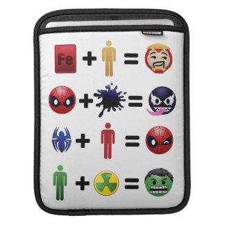 Marvel Emoji Character Equations iPad Sleeve