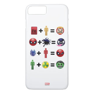 Marvel Emoji Character Equations iPhone 8 Plus/7 Plus Case