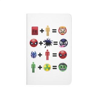 Marvel Emoji Character Equations Journal