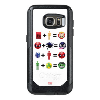 Marvel Emoji Character Equations OtterBox Samsung Galaxy S7 Case