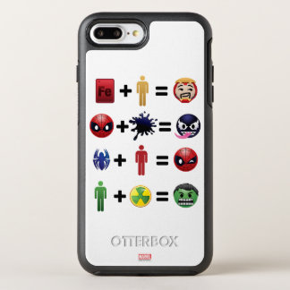 Marvel Emoji Character Equations OtterBox Symmetry iPhone 8 Plus/7 Plus Case