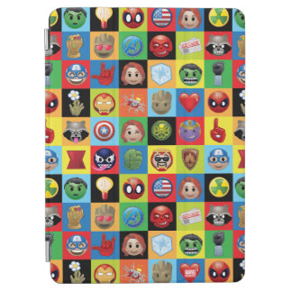 Marvel Emoji Characters Grid Pattern iPad Air Cover