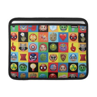 Marvel Emoji Characters Grid Pattern Sleeve For MacBook Air