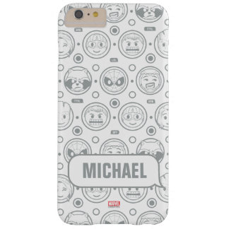 Marvel Emoji Characters Outline Pattern Barely There iPhone 6 Plus Case